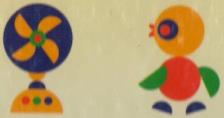 جورچین آهنربایی دایره های رنگی