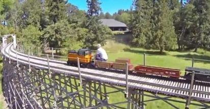 قطار بزرگ اسباب بازی